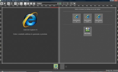 Expression Web SuperPreview for Windows Internet Explorer